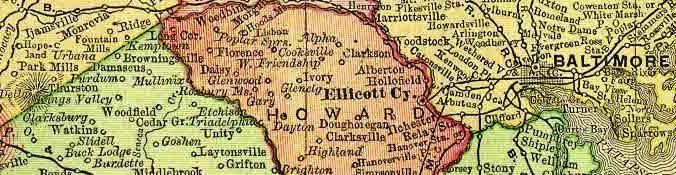 Old Dunloggin Map
